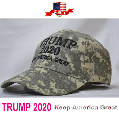 Keep America Great Trump 2020 Hat Election 46th President  MossyOak Camo USA