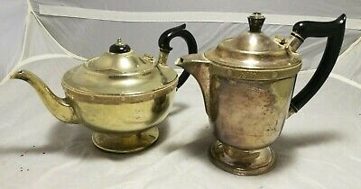 Antique ~ Vintage ~EPNS ~Teapot and Coffee Pot~ Ornate ~ Decorative~VGC