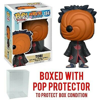 Funko Pop! Anime: Naruto Shippuden - Tobi #184 Vinyl Figure with Pop Box