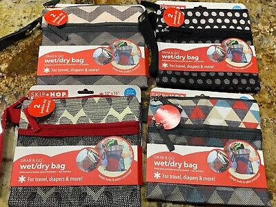1 One NOT ALL 1 One Read 1 One Pick 1 Skip Hop Grab and Go Wet-Dry Bag, Chevron