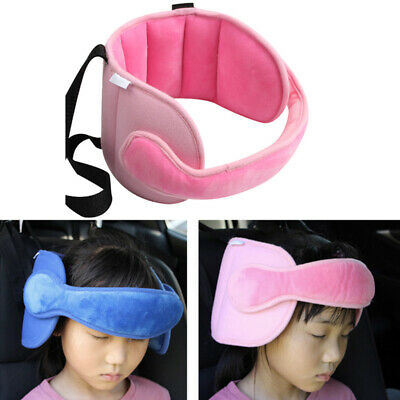 Car Seat Head Support Sleep Pillow Soft Safety Kids Travel Sleeping Neck Support