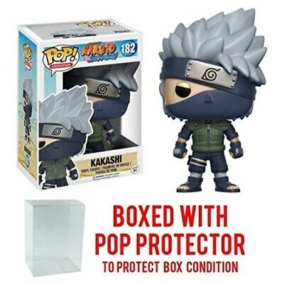 Funko Pop! Anime: Naruto Shippuden - Kakashi #182 Vinyl Figure (Bundled with Po