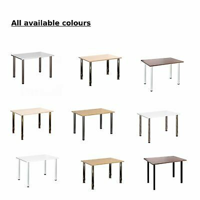 Computer Desk Office Dining Table Workstation All colours 120x80cm