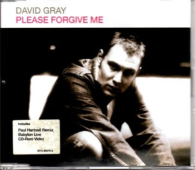 David Gray - Please Forgive Me - 2000 Video Enhanced Cd Single