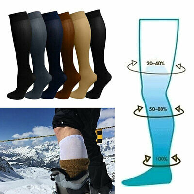 1 Pair Compression Socks Medical Travel Running Anti Fatigue Varicose Stockings