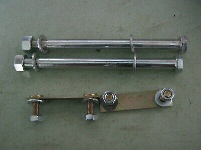 land rover series 2-3 bulk head & sill fitting kit of  2 bolts and  2 brackets