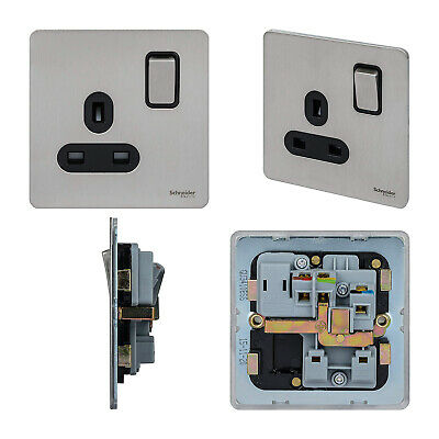Knightsbridge Screwless Telephone Extension Secondary Wall Single Socket Plate
