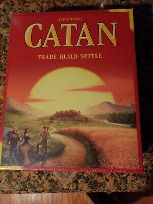CATAN 5th Edition Board Game Catan Studios Base Core 3071 Settlers Of NEW SEALED