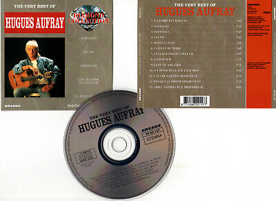 """HUGHES AUFRAY """"The Very Best Of"""" (CD) Santiano,Stewball,Celine...1993"""