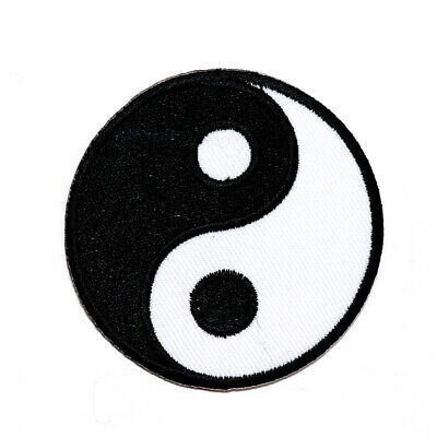 Yin Yang Chinese philosophy Taoism Religious Kung Fu Emblem Jeans Iron on Patch