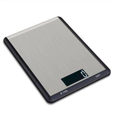 10kg/1g Digital LCD Stainless Steel Kitchen Baking Scale Food Medicinal X0V4