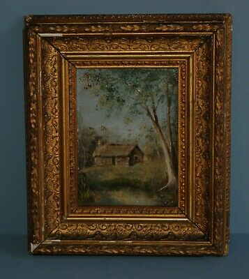 Old Oil Painting in Gilt Frame (Artist & Age Unknown)