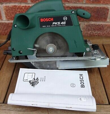 Bosch Pks 46 Circular Saw Used Only Once