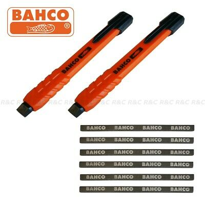 (PACK OF 2) Bahco Mechanical Carpenters Joiners Pencil with 6 Leads Refillable