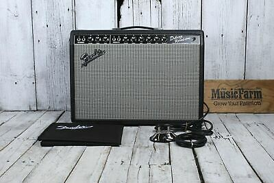 fender� 65 deluxe reverb reissue electric guitar amplifier tube amp w  footswitch