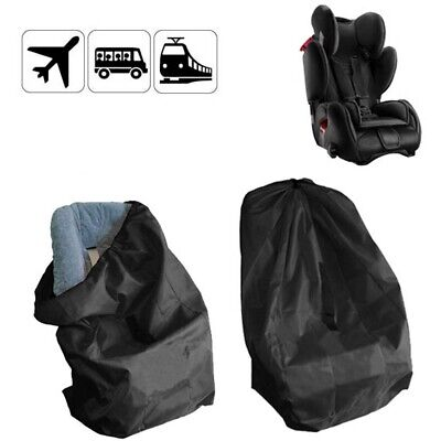 Portable Baby Kids Child Safety Car Seat Travel Bag Dust Cover Protector Black