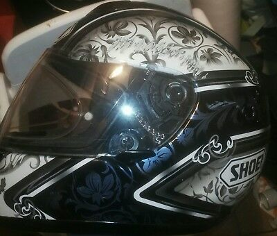 Shoei Raid 2 Motorradhelm Blau/Schwarz, Blue/Black Motorcycle/Moped Helmet