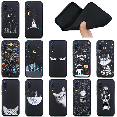 For Xiaomi Mi 9 SE/Redmi 7/GO/Note 7 Pro Soft Silicone Painted TPU Case Cover