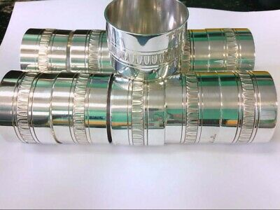 """Malmaison by Christofle Sterling Silver Napkin Ring. 1 1/8"""" Wide. GREAT DEAL!!"""