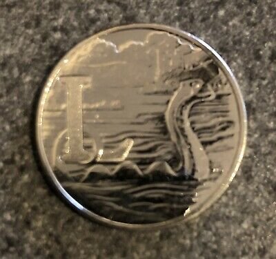 Rare 2019 L- Lochness Monster 10p A-Z British Uncirculated UK Coin Hunt