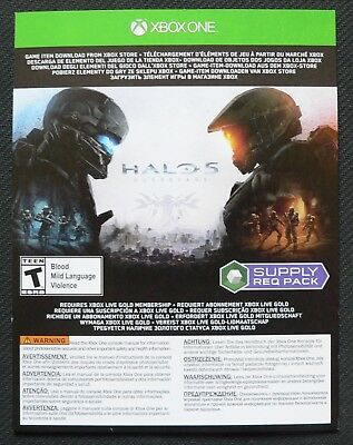 Halo 5: Guardians - REQ Supply Pack - Redeem Code for Xbox One