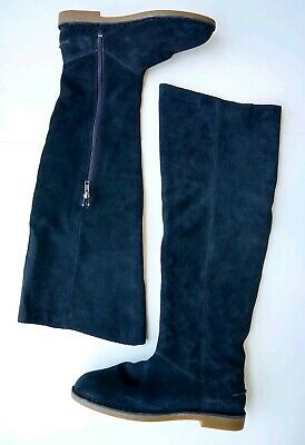 d184b271eb9 NEW 2019 UGG Women Loma Over The Knee Boot Suede Black 1095394 ...