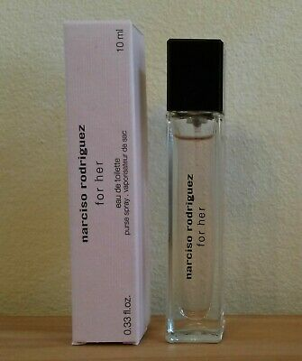 narciso rodriguez for her, EdT, 10 ml, Miniatur, Zerstäuber, Luxusprobe