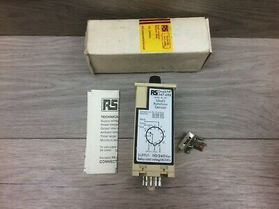 RS 347-696 0-30 Seconds Din case Shaft Rotation Sensing Relay