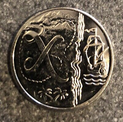 Rare 2019 X- X Marks The Spot A-Z 10p Uncirculated Uk Coin Hunt Next Kew?