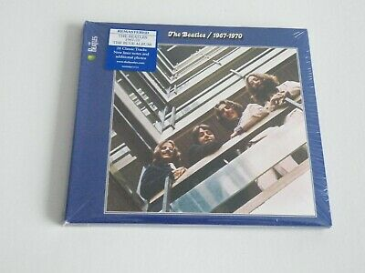 The Beatles 1967-1970 Blue 2Cd Uk Apple Records 2010 Remastered New Sealed Copy