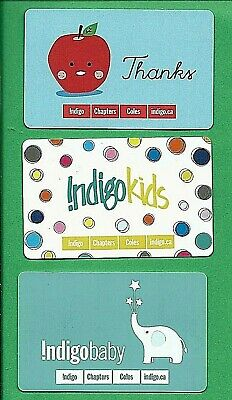 Chapters Indigo Canada Thanks Kids Baby Gift Cards