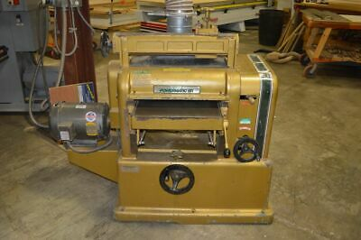 "Powermatic 180 18"" Planer 7.5 HP"