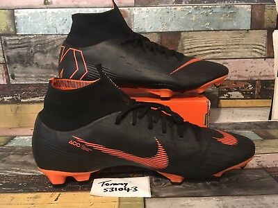 cbdd3f8233ac Nike Mercurial Superfly 6 Pro FG ACC Flayknit Football Boots UK 11.5  AH7368-081