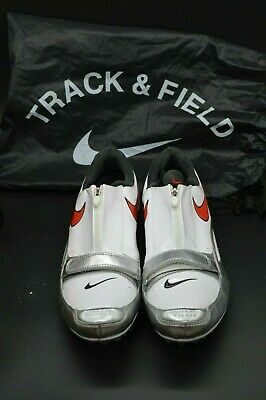 Nike Zoom Bowerman 2VL Track and Field patent Black shoes sz