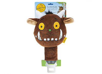 Car Seat Belt Buddy Including Trackable Courier Chimpanzee