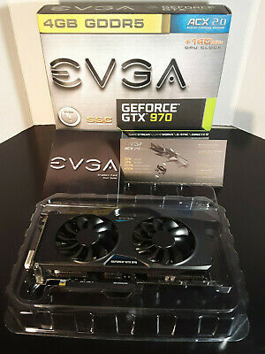 EVGA GeForce GTX 970 SSC 4GB GDDR5 Graphics Card (04G-P4-3979-KB)