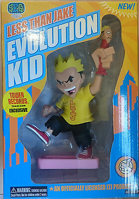 """LESS THAN JAKE - 7"""" Evolution Kid Rotocast Figure Exclusive (Stronghold) #NEW"""