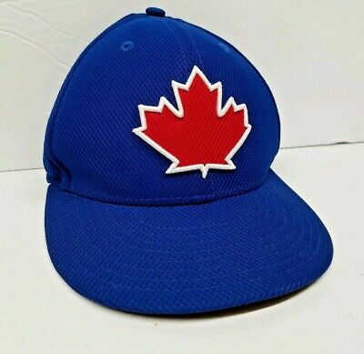 Toronto Blue Jays New Era 59Fifty Alternate Canada Maple Leaf Fitted Hat Size 7