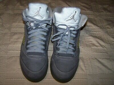 competitive price 0e35a 4cf05 2011 AIR JORDAN Retro 5 Wolf Grey Size 12 Men