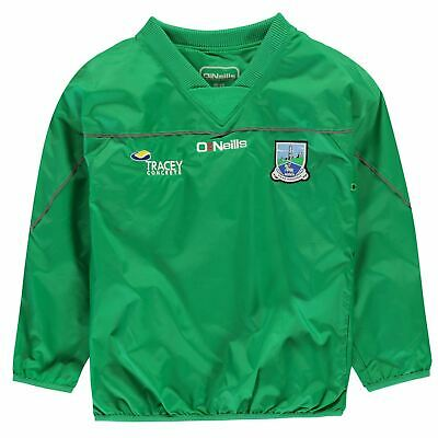 ONeills Kids Boys Junior Fermanagh GAA Training Top Long Sleeve Mesh Elasticated