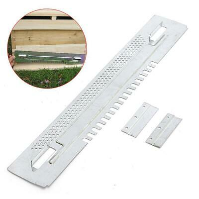Bee Hive Sliding Mouse Guards Travel Gate Beekeeping Equipment Tool Silver Hot