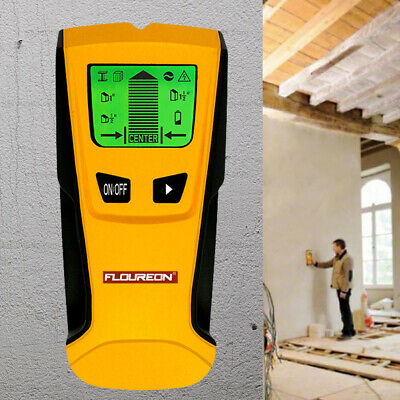 3in1 LCD Stud Wood Wall Center Finder Scanner Metal AC Live Wire Detector TH-210
