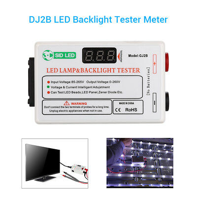 0-220V TV LED LCD Backlight Tester Meter Tool Lamp Beads SID GJ2B 85V-265V CA!