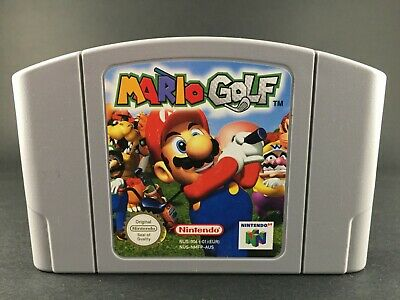 Mario Golf - Nintendo 64 Game - N64 PAL Preloved - Cartridge VGC