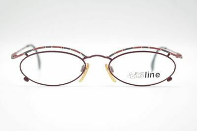 582ebea584 Vintage Swing Line 273 F788 51[]20 140 Rouge Oval Lunettes Lunettes NOS
