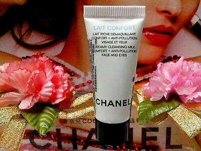 ❀SALE❀ [Chanel] Lait Confort Creamy Cleansing Milk Anti/P Face and Eye  (5ml)