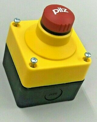 Pilz Emergency Stop Push Button 400421 With Box 2Nc 1No Germany