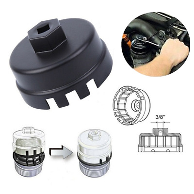 Oil Filter Cap Wrench Cup Socket Remover Tool  64MM 14 Flutes