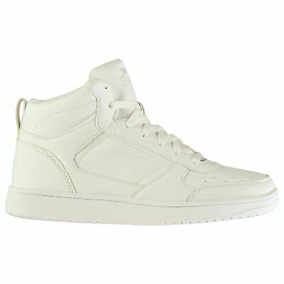 Slazenger Mens Tower Hi Top Trainers High Lace Up Padded Ankle Collar