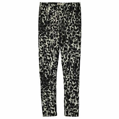 Crafted Kids Girls Lux Leggings Junior Pants Trousers Bottoms Lightweight Print